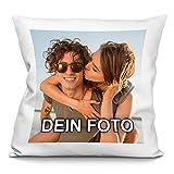 PhotoFancy Kissen mit Foto bedrucken - Fotokissen selbst gestalten (Fotokissen 40 x 40 cm)